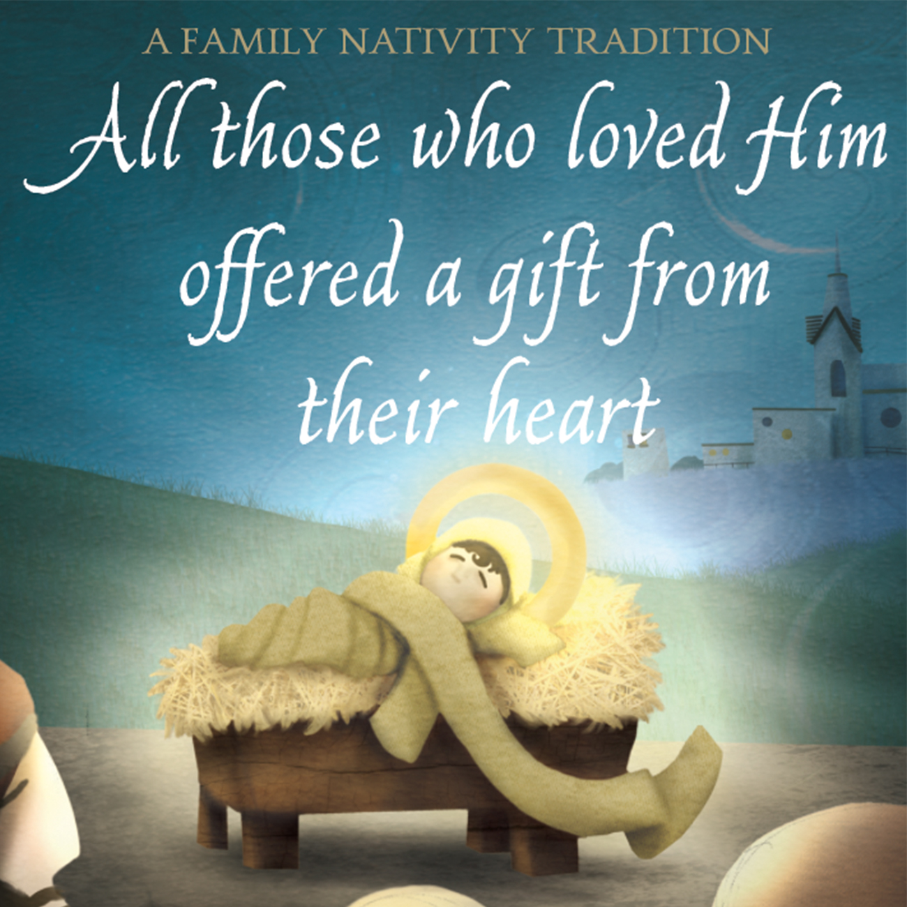 a christ centered family home evening the baby jesus